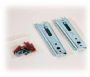 Professional Concealed Headboard Panel Wall Fixing Brackets - Pack of 2